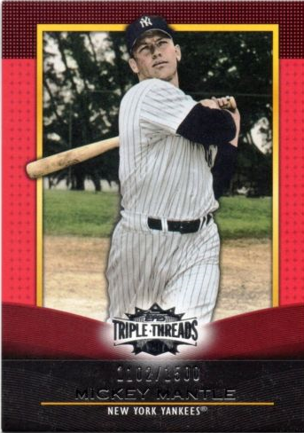 2011 Threads Mickey Mantle
