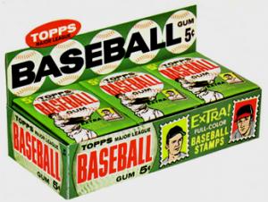 1962 Topps Baseball Box