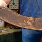oldest hockey stick