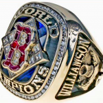 Red Sox World Series ring Scott Williamson 2004