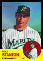 Mike Stanton 2012 Topps Heritage
