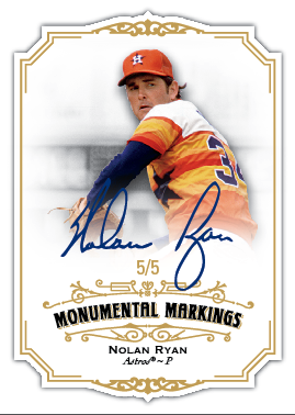 Nolan Ryan autographed 2012 Topps Marquee