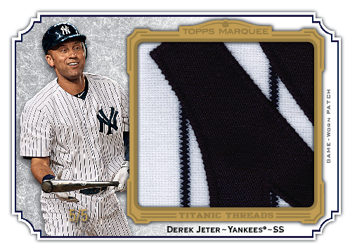 2012 Topps Marquee Jeter patch