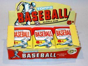 Topps 1957 5c Display Box & Wax Packs