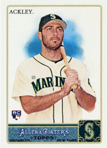 Dustin Ackley rookie card