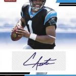 Cam Newton Rated Rookies autograph