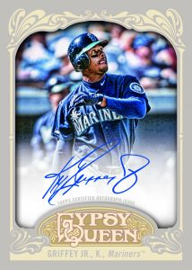Autographed Topps Griffey 2012 Gypsy Queen