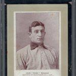 Honus Wagner Sporting Life Cabinet
