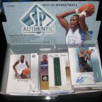 SP Authentic 2011-12 basketball box