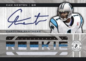 Totally Certified Cam Newton auto