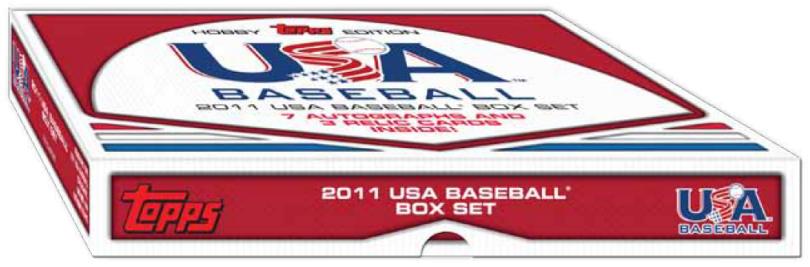 2011 Topps USA Baseball boxed set