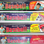 Baseball card boxes 1970