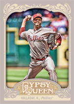 Roy Halladay 2012 Topps Gypsy Queen