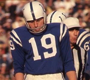 John Unitas Baltimore Colts