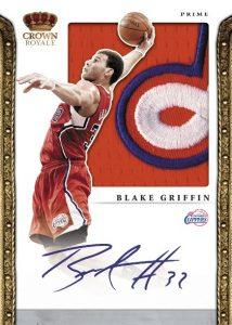 Signed Blake Griffin 2012 Preferred