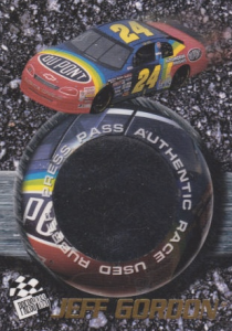 Press Pass Jeff Gordon tire