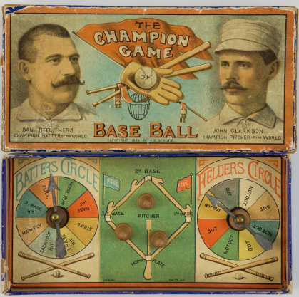 19th Century Champion Baseball Game Brouthers Clarkson