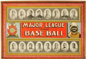 Indoor Baseball Board Game 1913