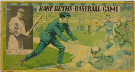 Vintage Babe Ruth board game