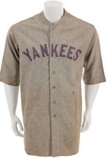 Ray Morehart 1927 Yankees uniform