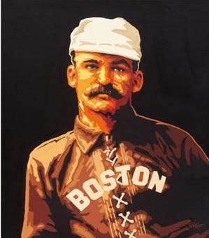 Dick Perez painting King Kelly