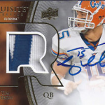 Tim Tebow rookie card 2010 Exquisite