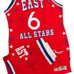 1983 NBA All Star uniform Julius Erving