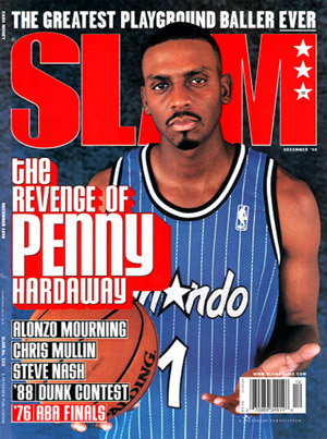SLAM magazine Revenge of Penny Hardaway