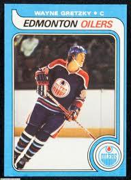 Wayne Gretzky rookie card 1979-80 Edmonton Oilers