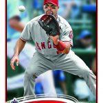 Albert Pujols 2012 Topps card 331