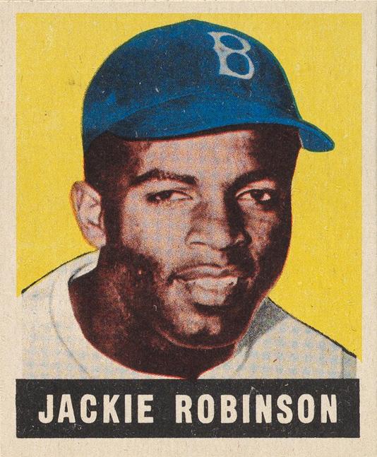 Jackie Robinson rookie card
