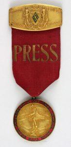 Press pin 1915 World Series