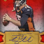 2012 Topps Supreme Tebow autograph