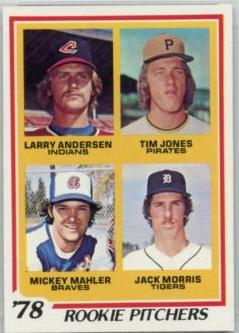 1978 Topps Jack Morris