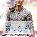 Hope Solo signed card