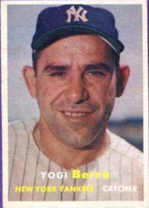 Topps 1957 Yogi Berra