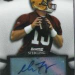 Matt Flynn rookie card Bowman Sterling autograph