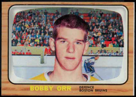 Bobby Orr 1966-67 Topps USA Test