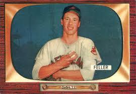 1955 Bowman Bob Feller
