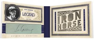Lou Gehrig Panini Prime Cuts