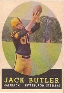 Jack Butler 1958 Topps