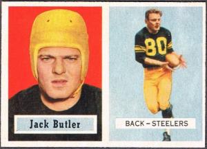 1957 Topps Jack Butler