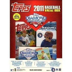 2011 Topps value box