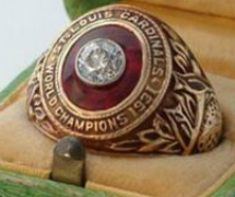 World Series ring 1931 Cardinals