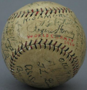 Autographed Cardinals ball