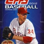 Topps Baseball 2012 box