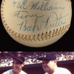 Autographed Babe Ruth baseball Ted Williams collection