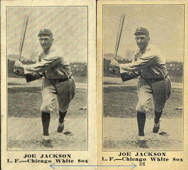 Joe Jackson M101-5 Variations