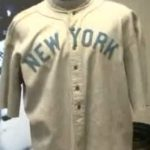 Babe Ruth 1920 jersey