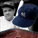 Game worn Babe Ruth cap